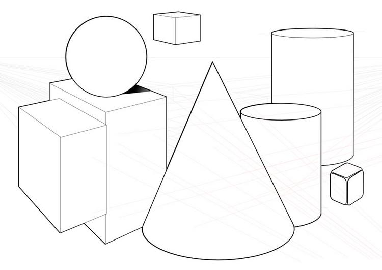 Form Shape And Space : Quia elements of art