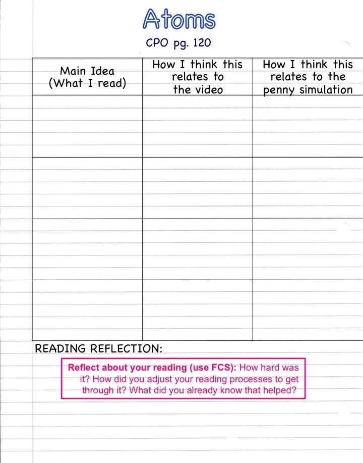 Quia Class Page Notebook Unit 2
