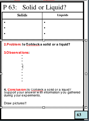 Quia - Class Page - 8th Grade Notebook Page