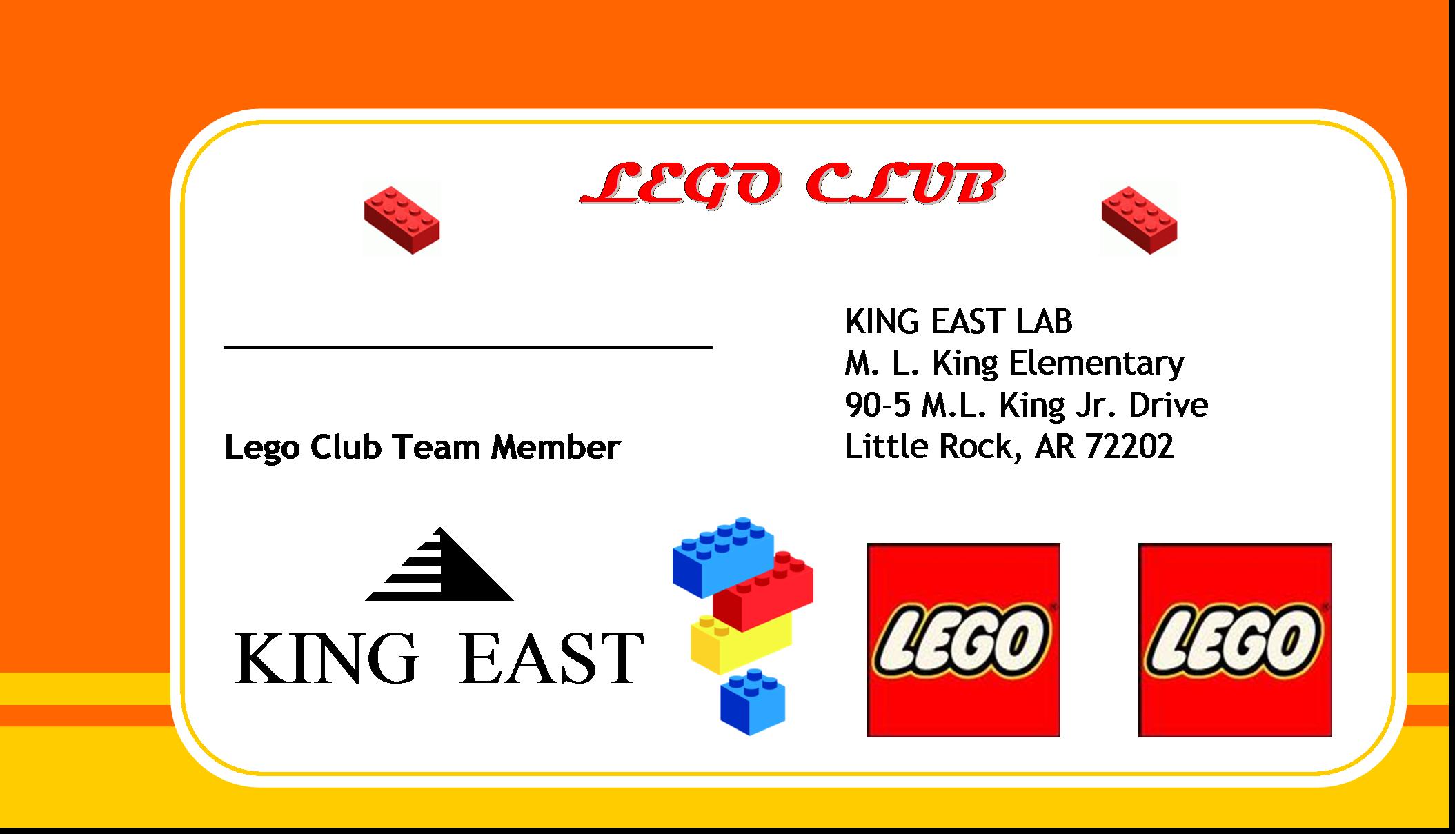 EAST @ King: Lego and Robotics Club Finally A Reality