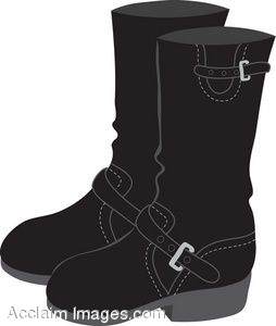Winter Boots Clipart
