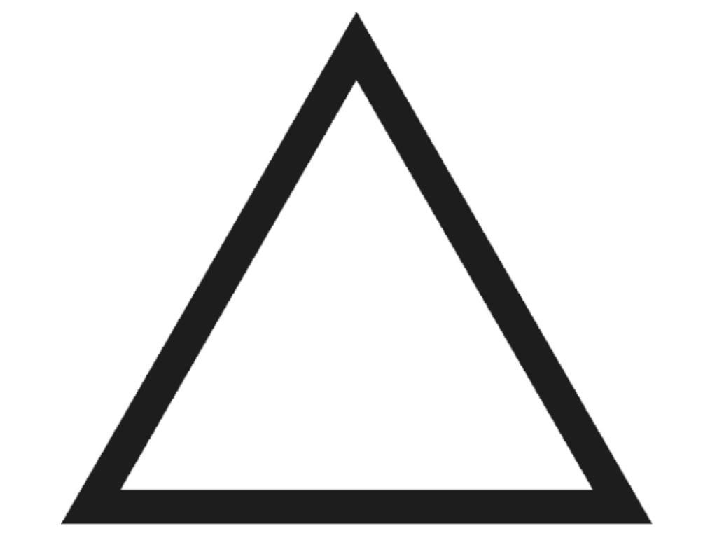 quia triangle vocabulary