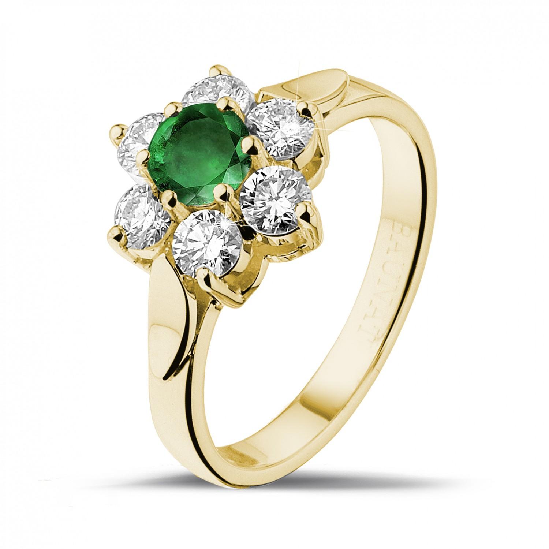 Fotos de anillos de compromiso en oro 32