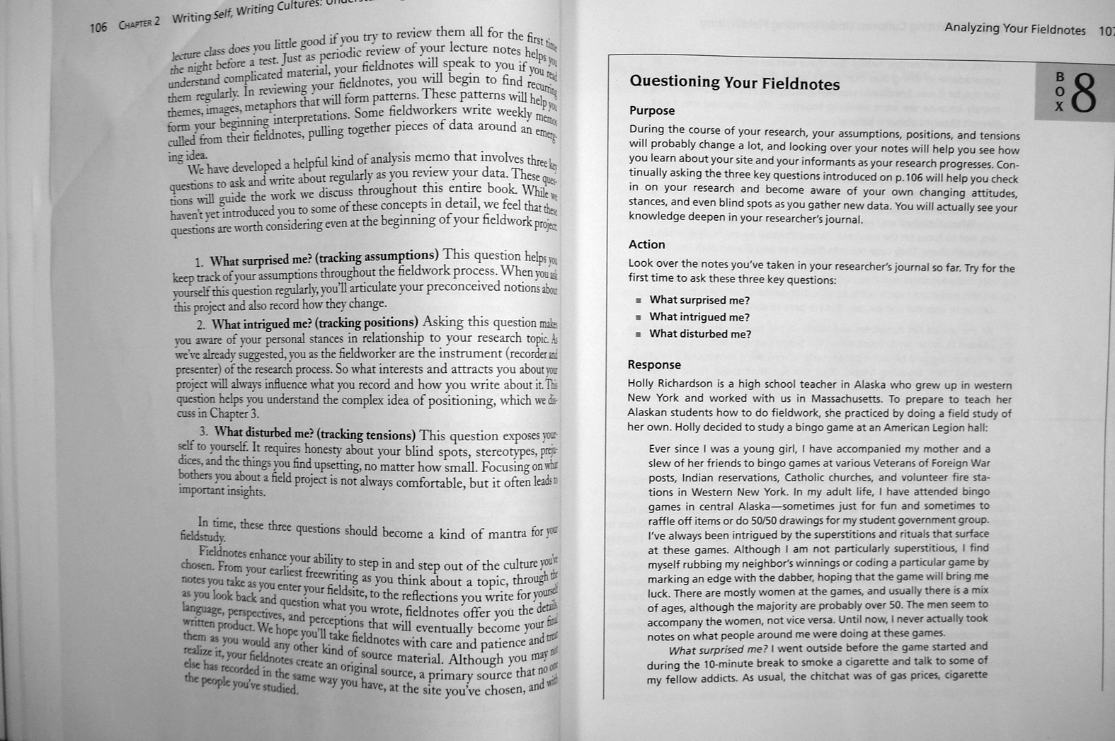 ethnographic essays Ethnography is the systematic study of people and cultures it is designed to explore cultural phenomena where the researcher observes society from the point of view of the subject of the study an ethnography is a means to represent graphically and in writing the culture of a group the word can thus be said to have a.