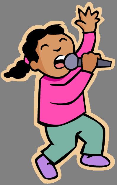 Kids Singing Clipart Quia - Action V...