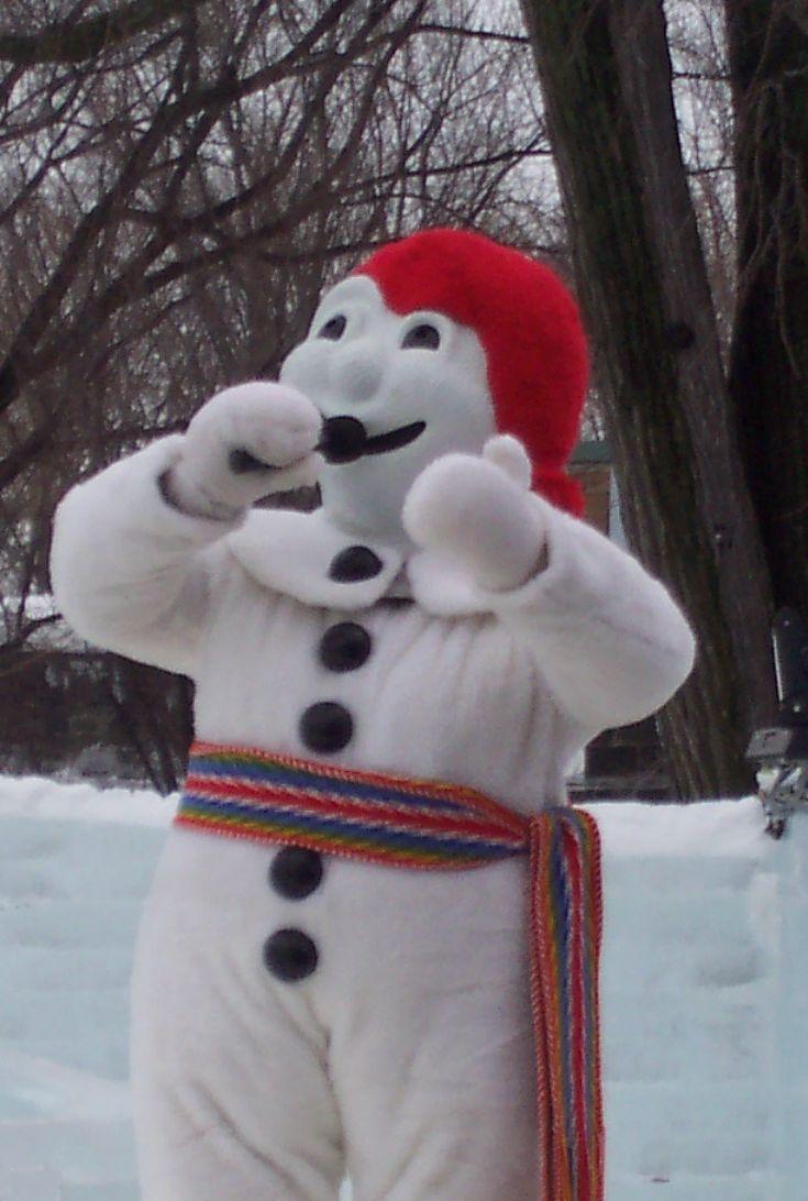 Quia carnaval de quebec - Bonhomme de neige decoration exterieure ...