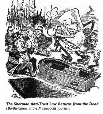 the history of the sherman antitrust act in the united states § 4 - jurisdiction of courts duty of united states antitrust laws not this chapter includes among other statutory provisions the sherman act.