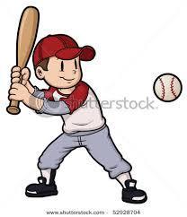 Baseball Kid Clipart Cartoon Baseball Boy Vector Clip art