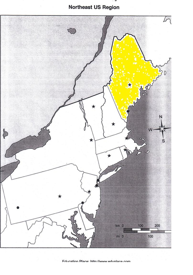 northeastern capitals states youtube outline map of northeast