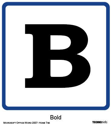Html bold