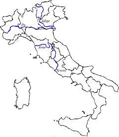 Cartina Italia Fiumi.Cartina Muta Fiumi Italia Yahoo