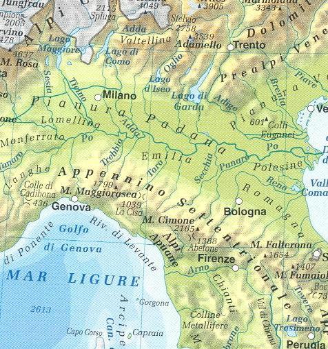 Cartina Fisica Lago Di Garda.Quia Class Page 2 Unita 1 L Italia Fisica Montagne Laghi Fiumi Mari