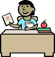 image School teacher and student