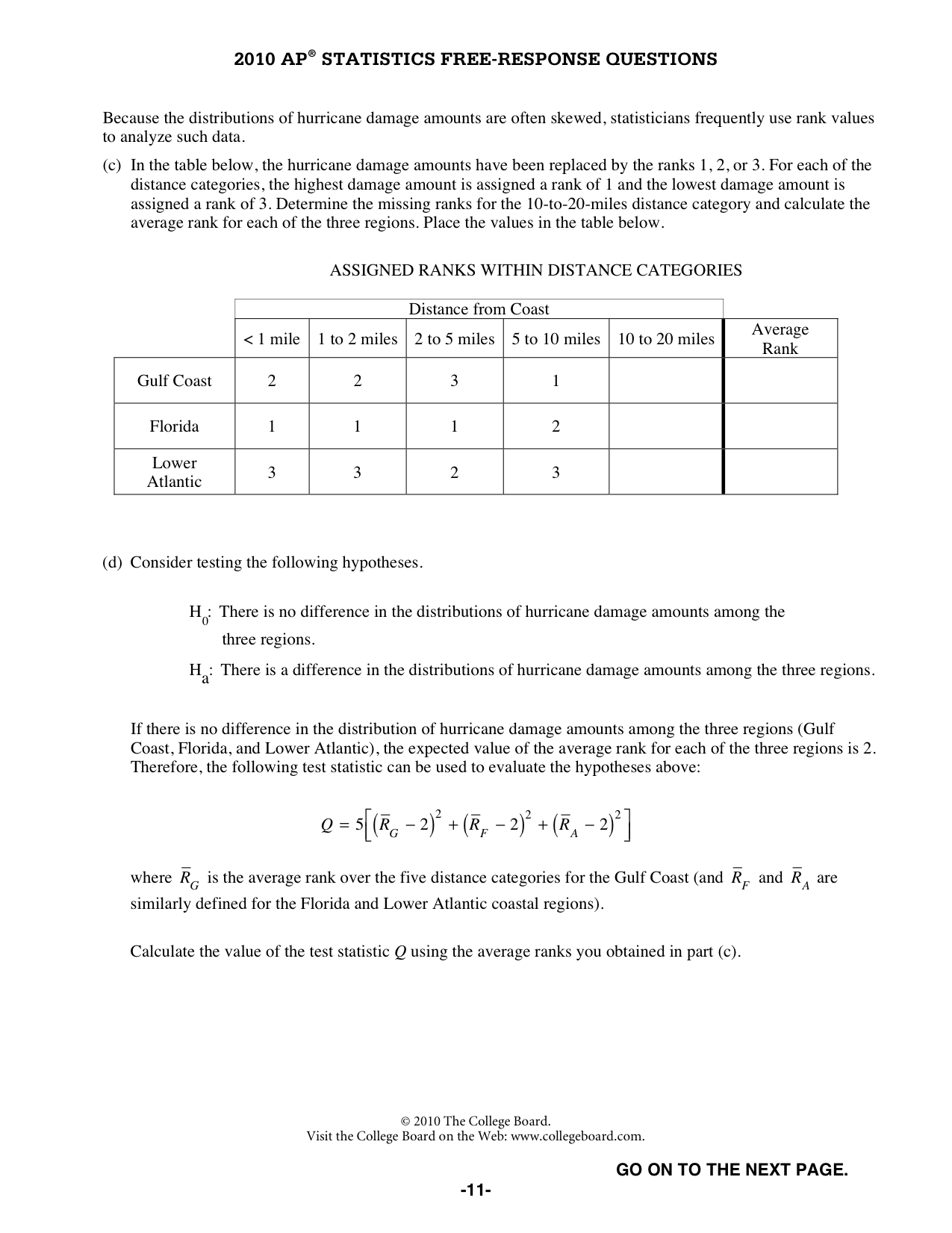Quia - Survey for Interest Level in AP Statistics course