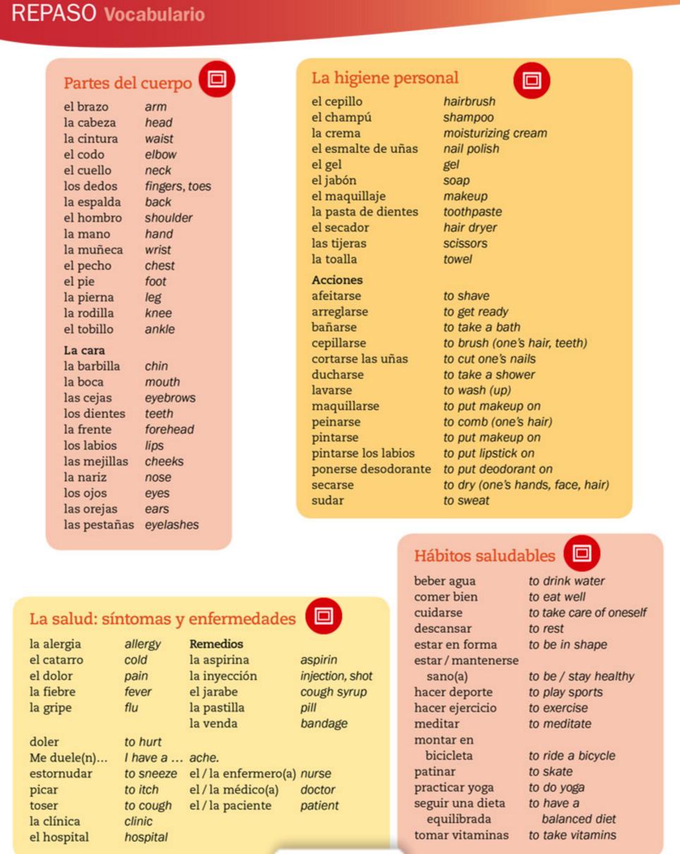 Workbooks quia workbook : Quia - Class Page - 2016-17 Español II Período 5