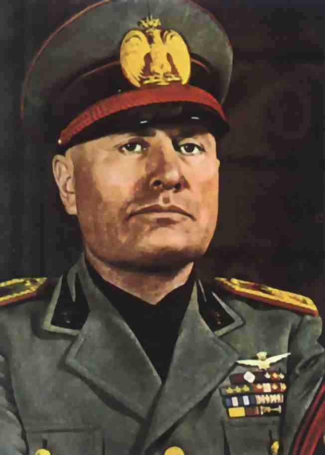 mussolini became outstanding minister from italy