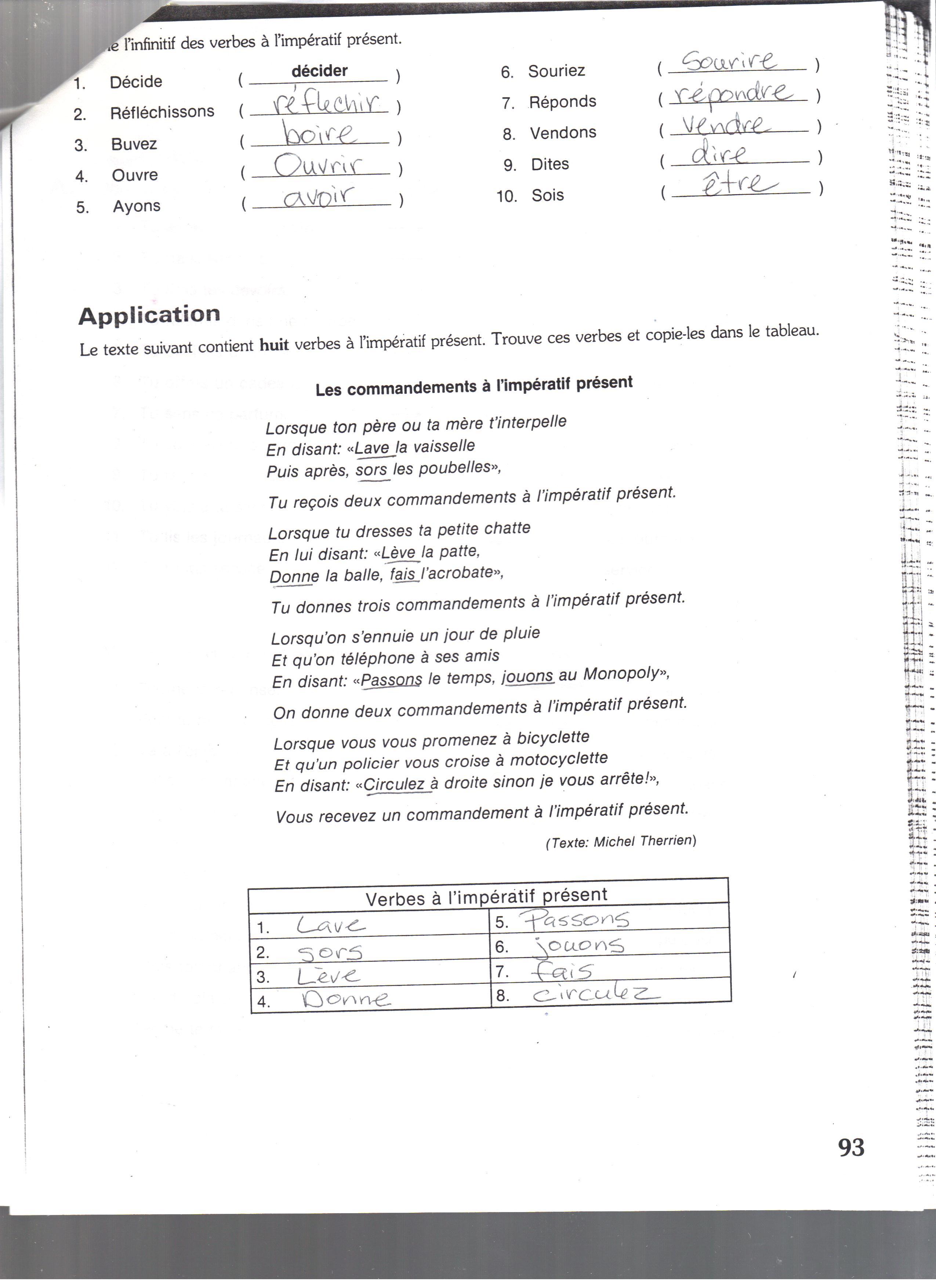 Quia - Class Page - Pre IB Fr I & II