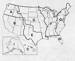 Manifest destiny westward expansion map