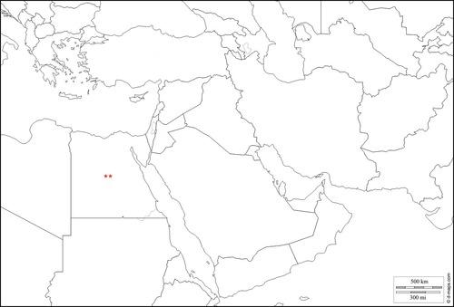 Quia - Southwest Asia Political Map Quiz