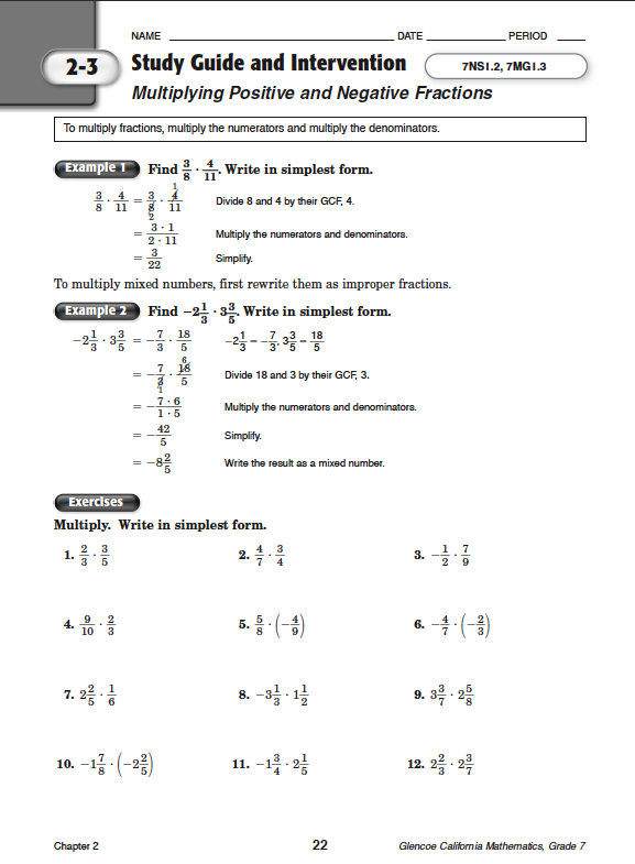 Quia - Class Page - Math Chapter 2