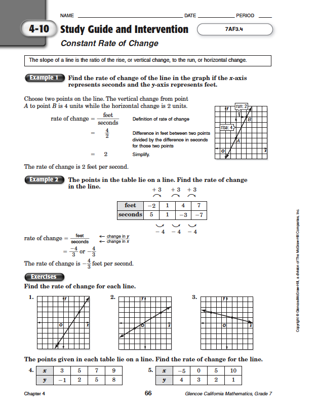 Quia - Class Page - Math Chapter 4