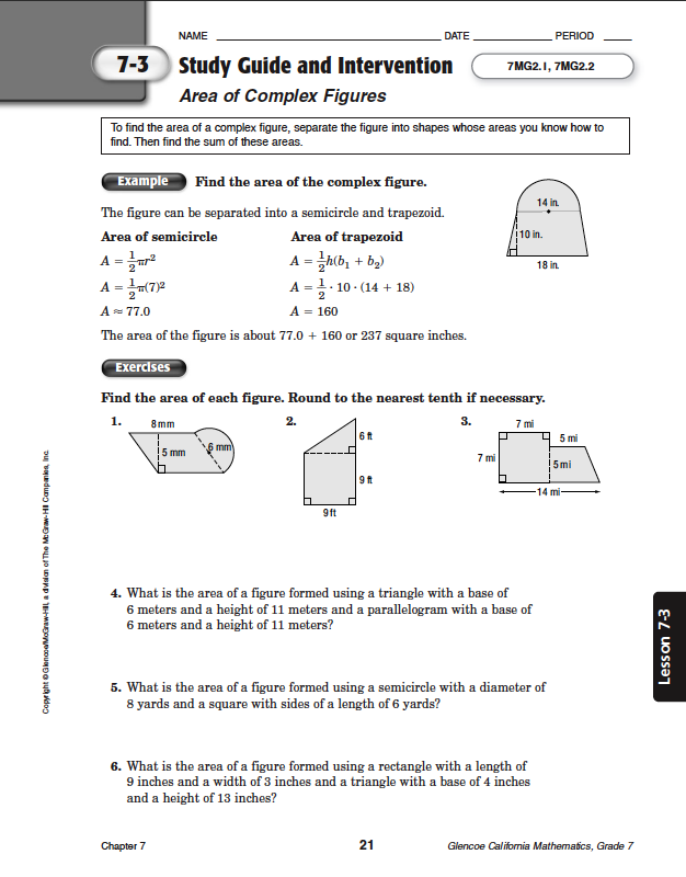 Quia - Class Page - Math Chapter 6