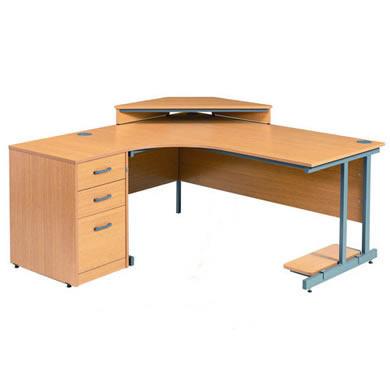 Poste de travail ergonomique bureau
