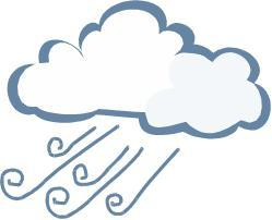 windy weather clip art
