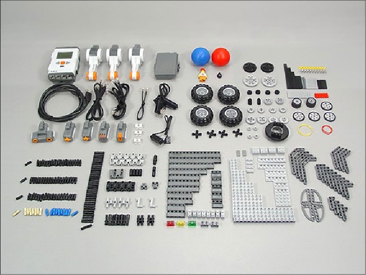 Lego mindstorms nxt 9797 parts list