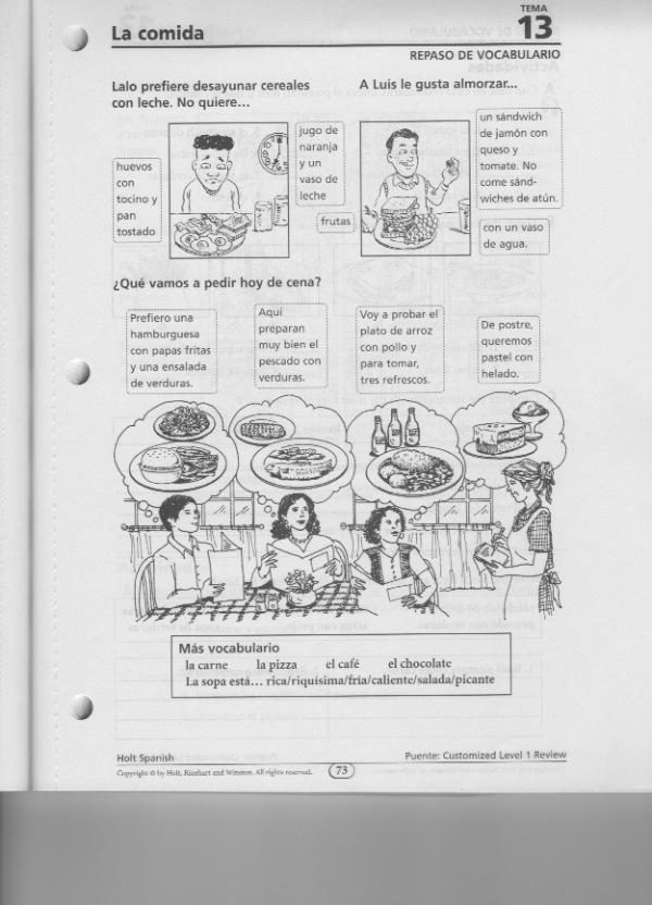 Quia - Class Page - Spanish 1 - Period 2 (2011-12)