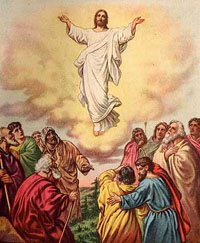 Image result for ascension of jesus