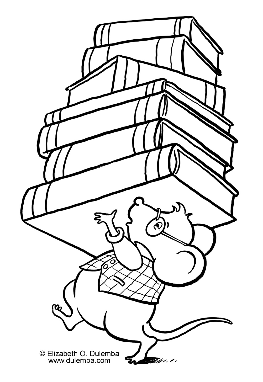 coloring pages from childrens books - photo#6