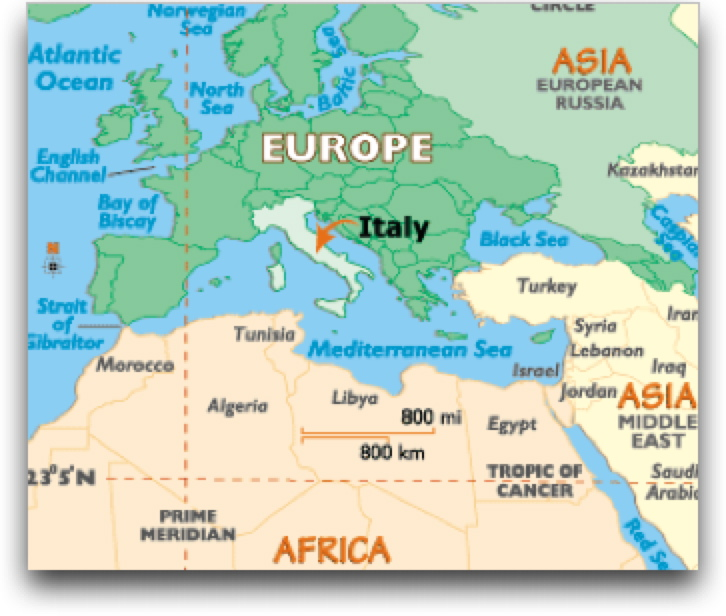 Quia Global Regents Prep Ancient Rome - Where is italy