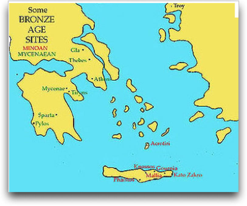 Quia Global Regents Prep Ancient Greece Maps And Images