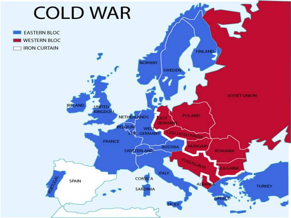 Map Of Germany During Cold War.Top 10 Punto Medio Noticias Map Of East Germany During Cold War