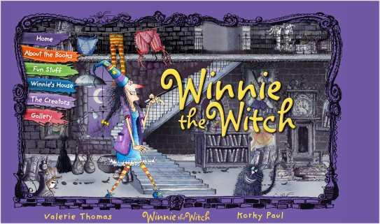 Resultat d'imatges de winnie the witch web