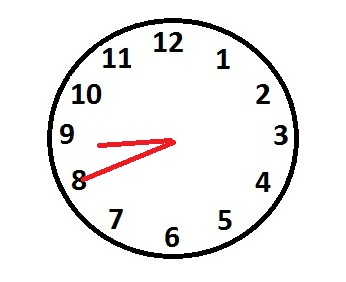 Image result for eight forty clock