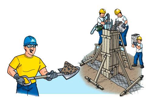 Quia los oficios de mi vecindario for Construir una pileta de ladrillos