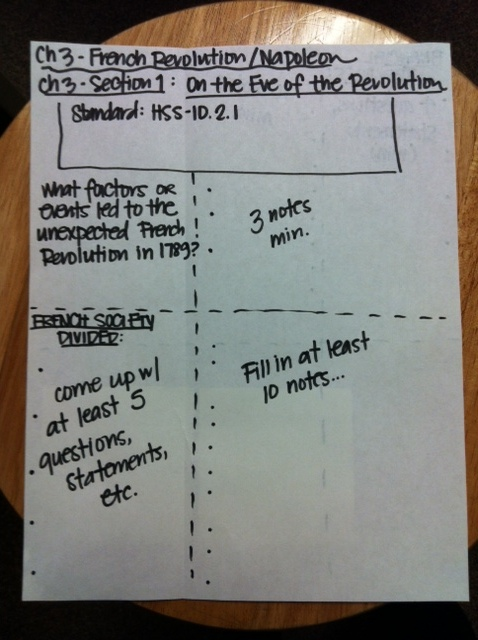 cornell notes chapter 7 history alive History alive the ancient world textbook and answer chapter questions for chapter 33, you will take notes on and around a drawing of a pan balance.