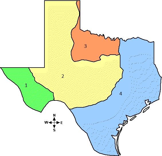 Natural Texs And Its Regions