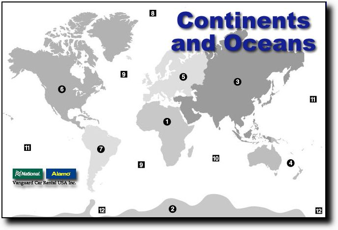 Quia 00 maps 00 continents and oceans continents gumiabroncs Images